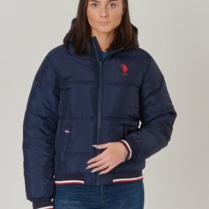 Us Polo Sun Valley Puffer Jacket Takki Sininen