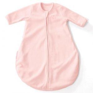 Vaaleanpunainen Dreamsie Pitkähihainen unipussi