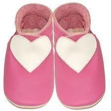 Vaaleanpunaiset-sydän tossut