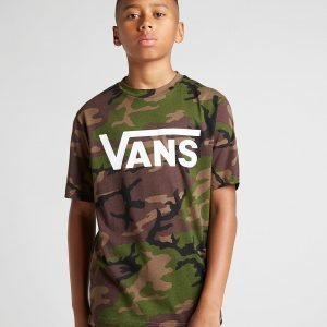 Vans All Over Print Camo T-Shirt Vihreä