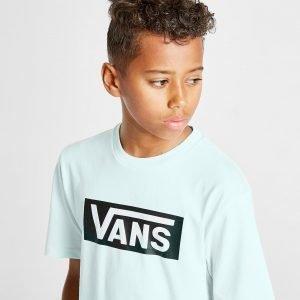 Vans Box T-Shirt Sininen