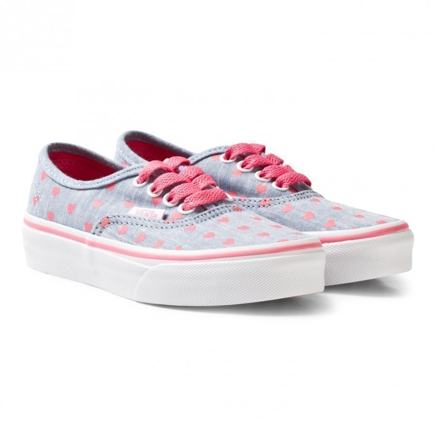 Vans Chambray Hearts Authentic Trainers Lenkkarit