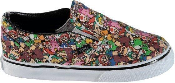 Vans K Cl Slip-On Mario Nintendo tennarit