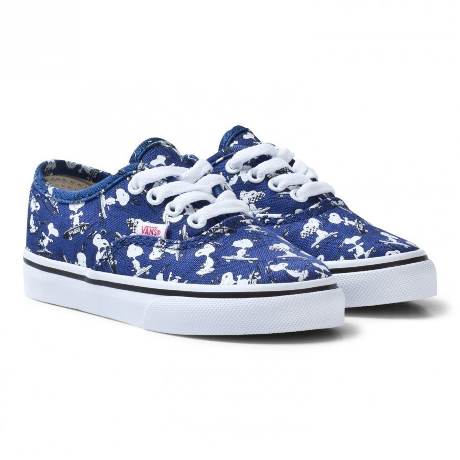 Vans Kids Vans X Peanuts Authentic Shoes Snoopy/Ink Blue Klassiset Kengät