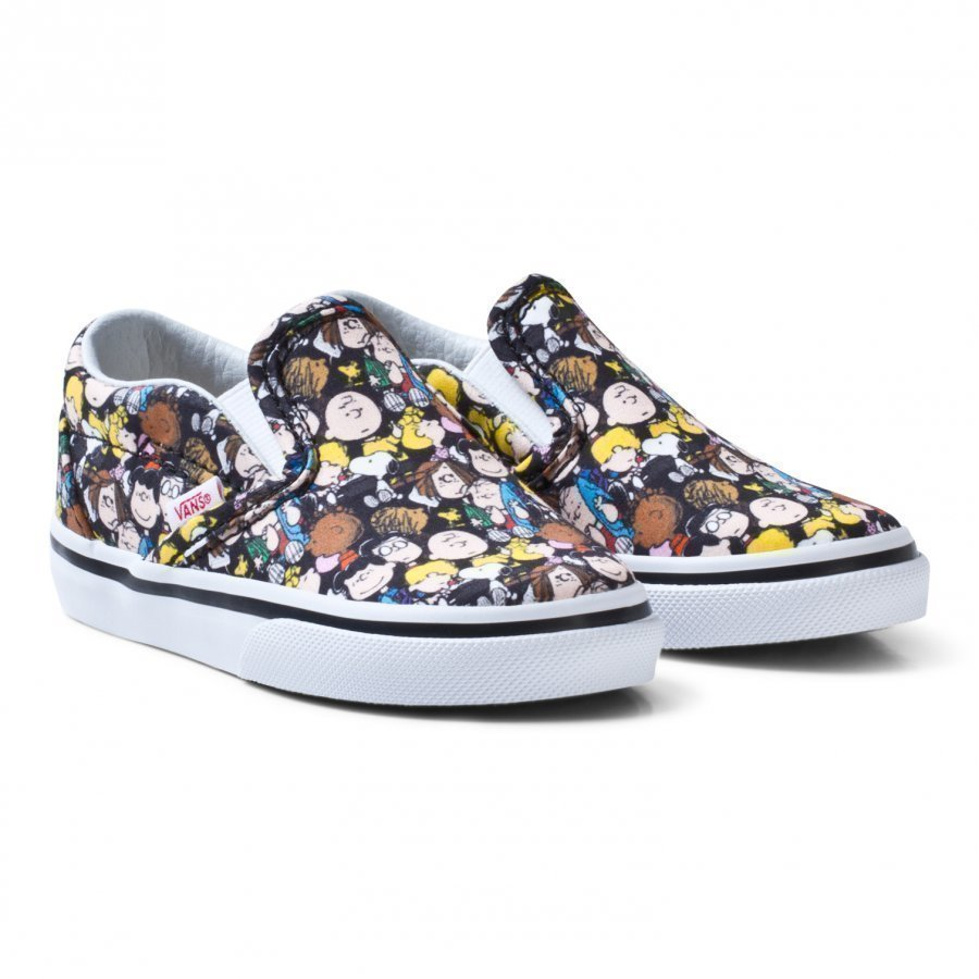 Vans Kids Vans X Peanuts Classic Slip-On Shoes Slip On Kengät