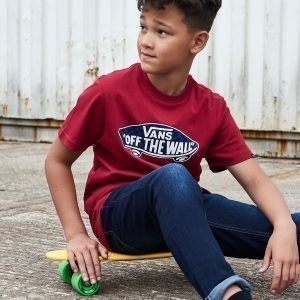 Vans Off The Wall T-Shirt Punainen