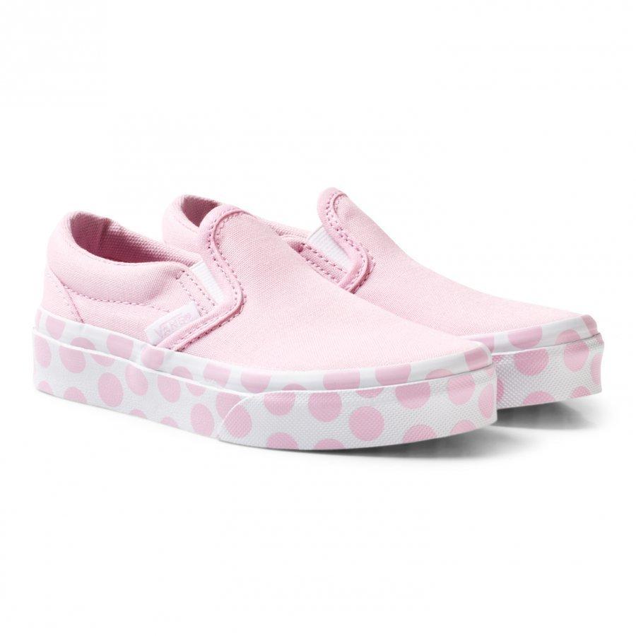 Vans Pink Polka Dot Slip On Lenkkarit
