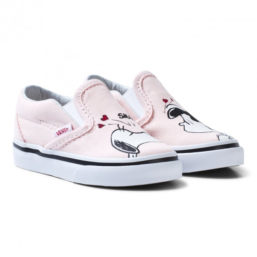 Vans Toddler Vans X Peanuts Classic Slip-On Shoes Slip On Kengät