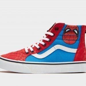 Vans X Marvel Sk8-Hi Spiderman Punainen