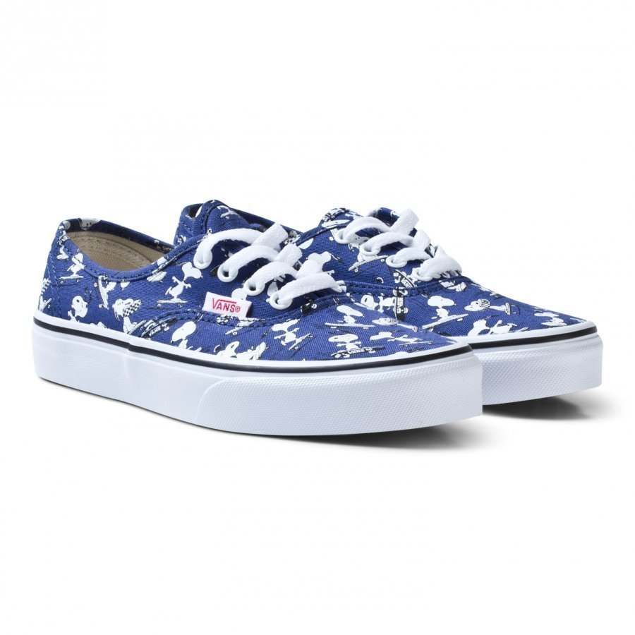 Vans X Peanuts Authentic Shoes Snoopy/Ink Blue Klassiset Kengät