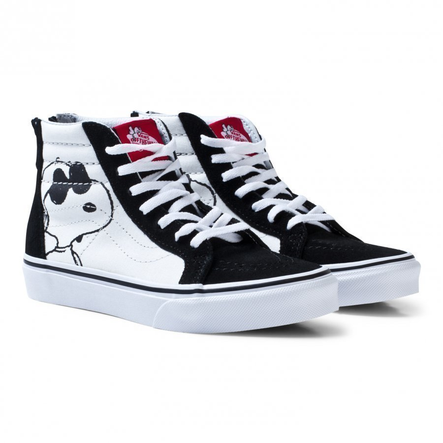 Vans X Peanuts Uy Sk8-Hi Reissue Shoes Joe Cool Black Klassiset Kengät