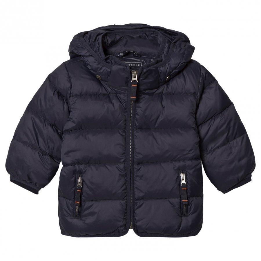 Ver De Terre Featherlight Baby Jacket Navy Toppatakki