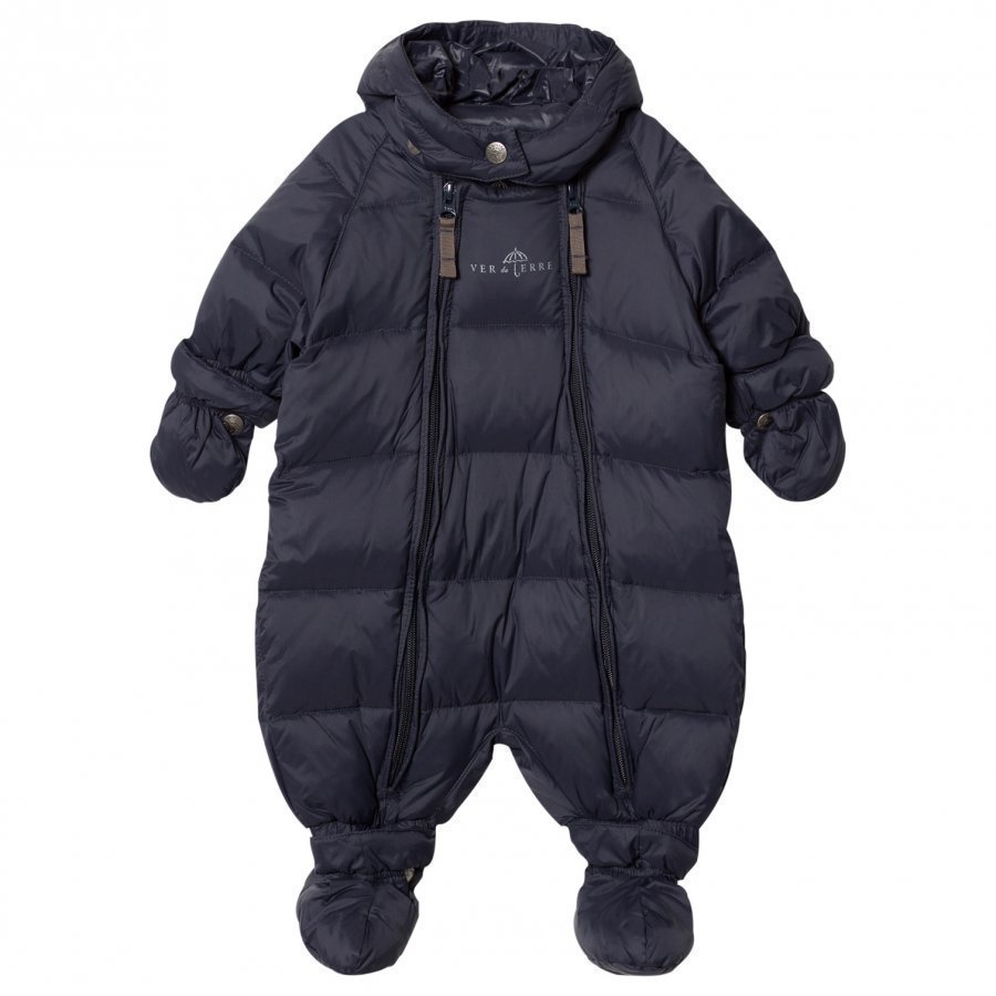 Ver De Terre Featherlight Baby Wintersuit Navy Toppahaalari