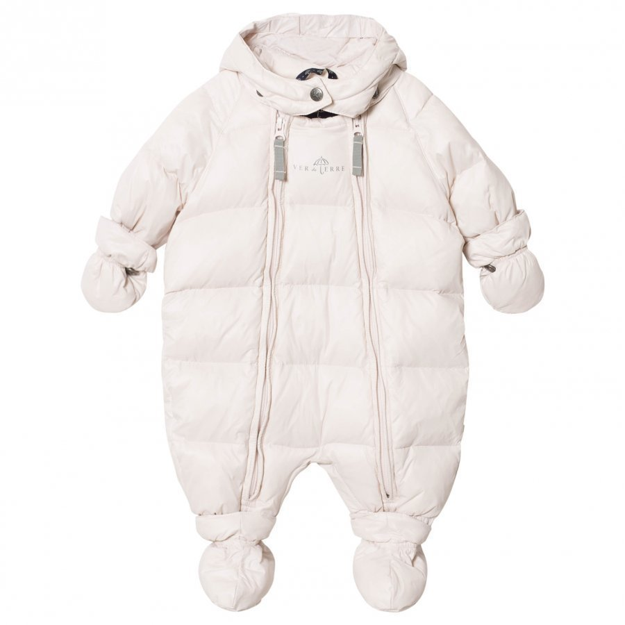 Ver De Terre Featherlight Baby Wintersuit Rose Powder Toppahaalari