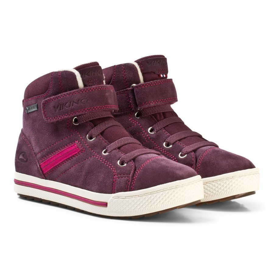 Viking Eagle Iii Gtx Shoes Aubergine/Fuchsia Klassiset Kengät