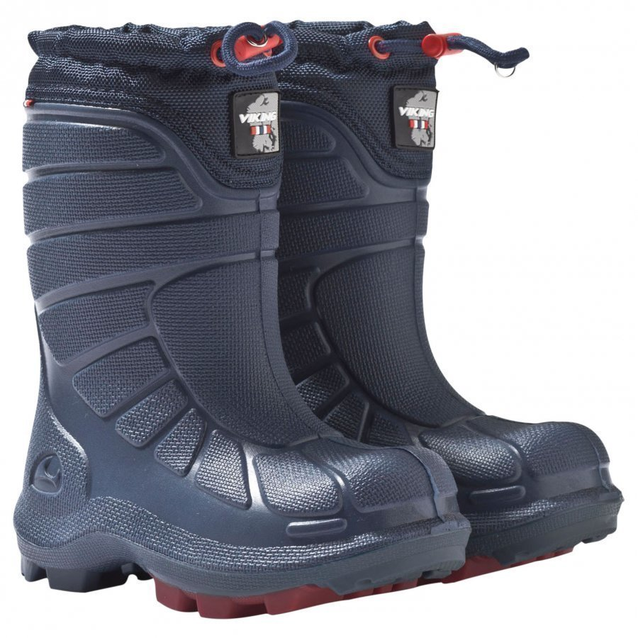 Viking Extreme Boot Navy/Red Kumisaappaat