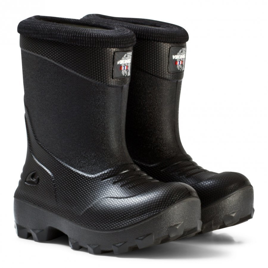 Viking Frost Fighter Boots Black/Grey Kumisaappaat