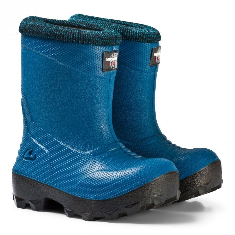 Viking Frost Fighter Boots Blue/Black Kumisaappaat