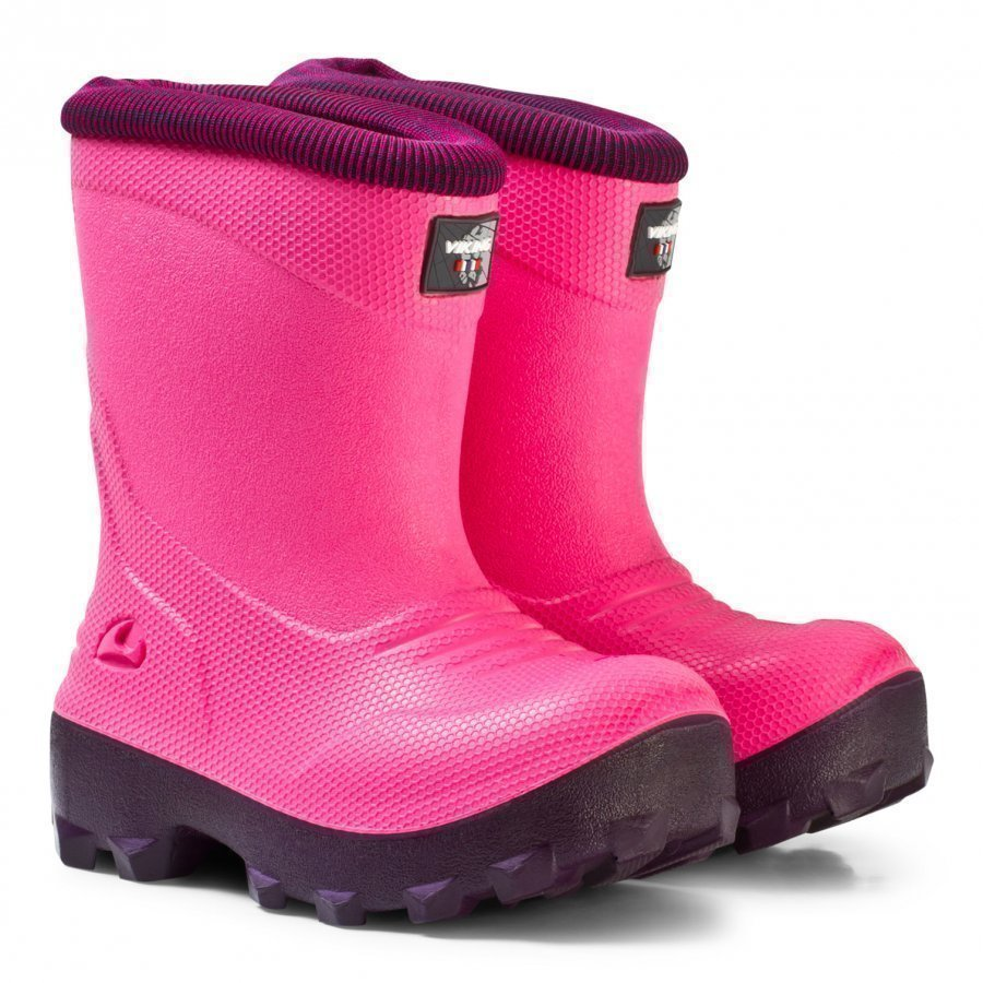 Viking Frost Fighter Boots Magenta/Purple Kumisaappaat