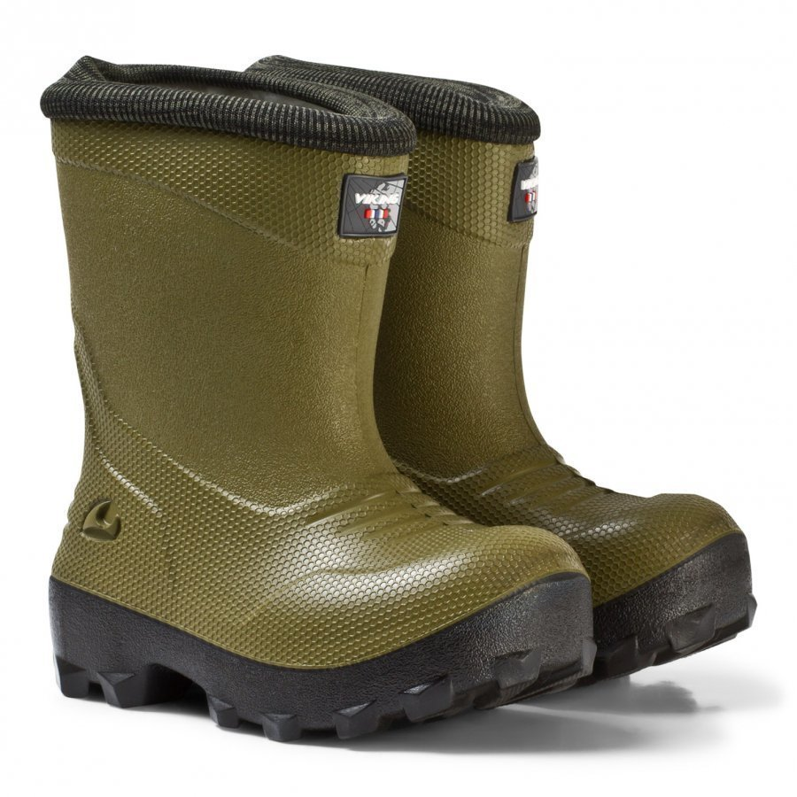 Viking Frost Fighter Boots Olive/Black Kumisaappaat