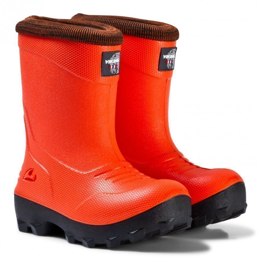 Viking Frost Fighter Boots Signal Red/Black Kumisaappaat