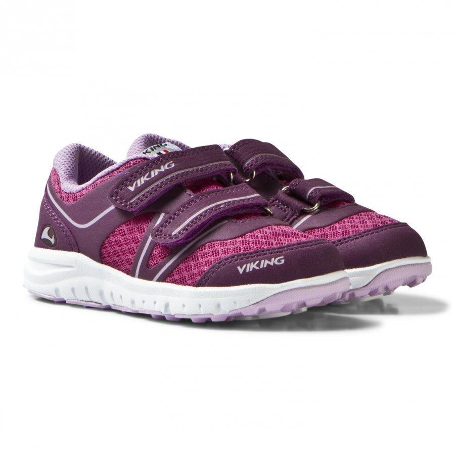 Viking Hel Ii Sneakers Plum/Dark Pink Lenkkarit