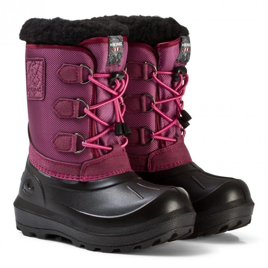 Viking Istind Boots Dark Pink/Black Talvisaappaat