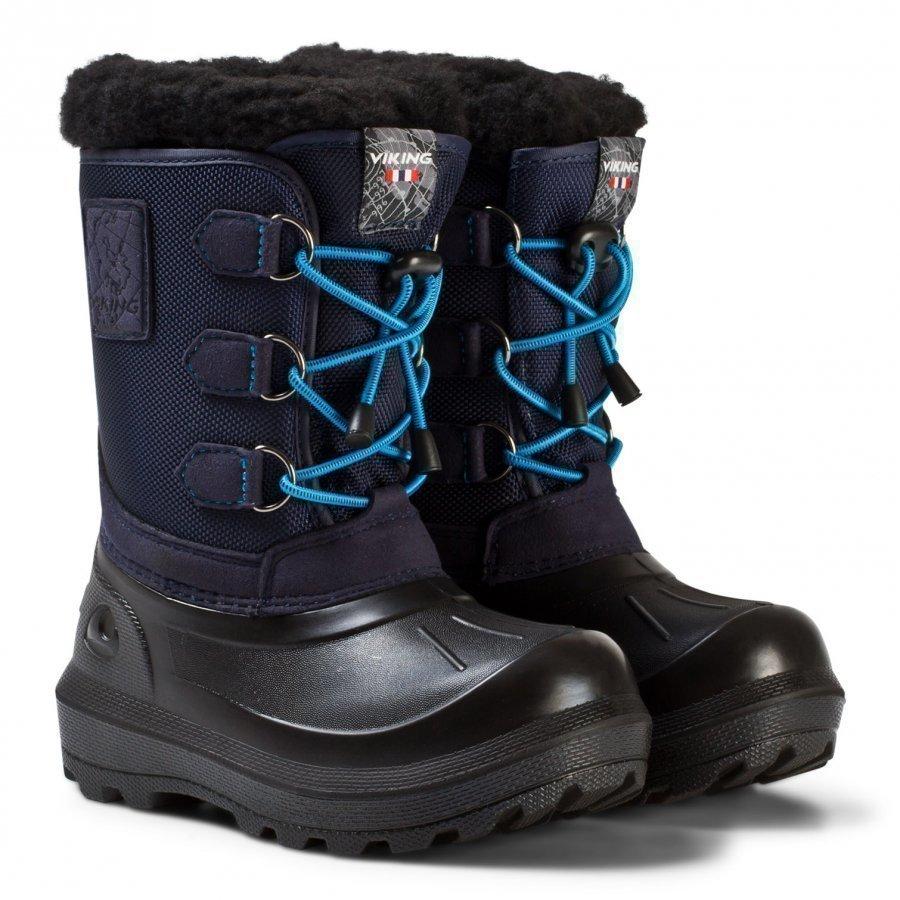 Viking Istind Boots Mid Blue/Black Talvisaappaat