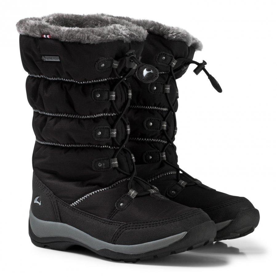Viking Jade Gtx Boots Black/Grey Talvisaappaat