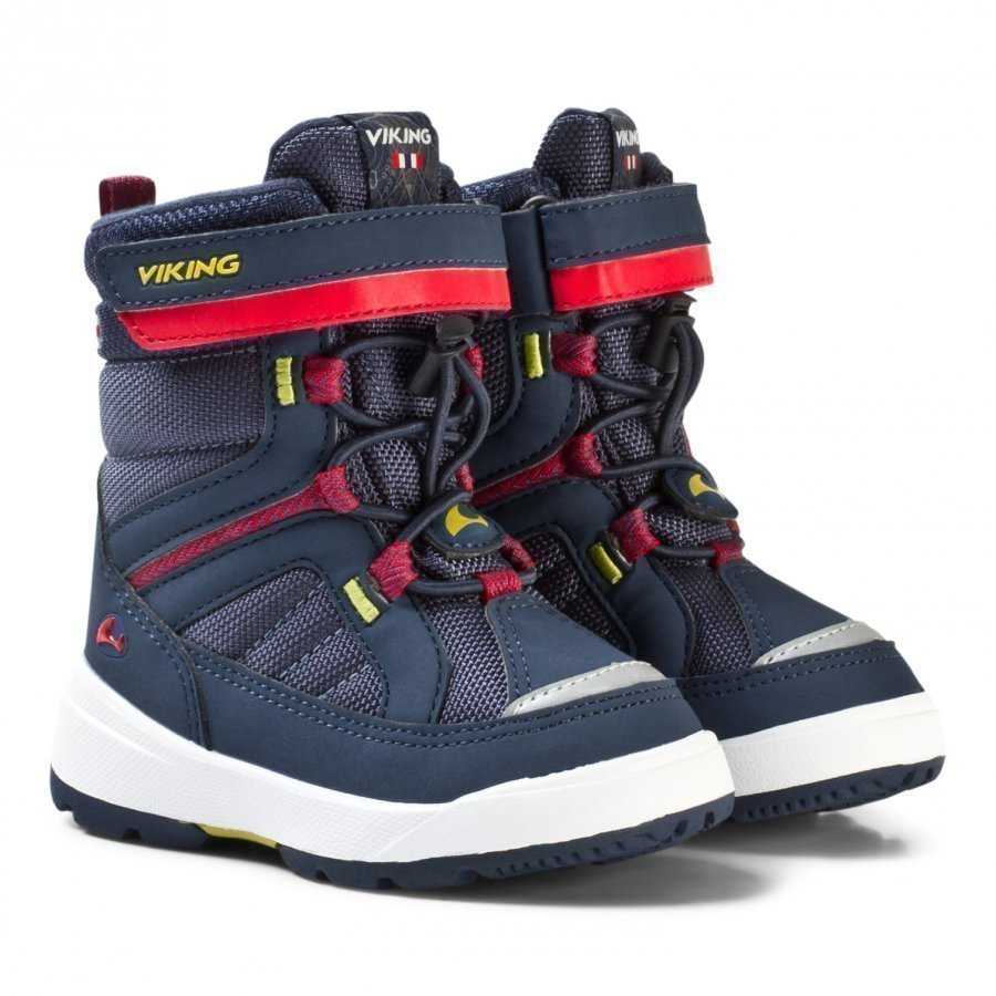 Viking Playtime Gtx Boots Navy/Red Talvisaappaat