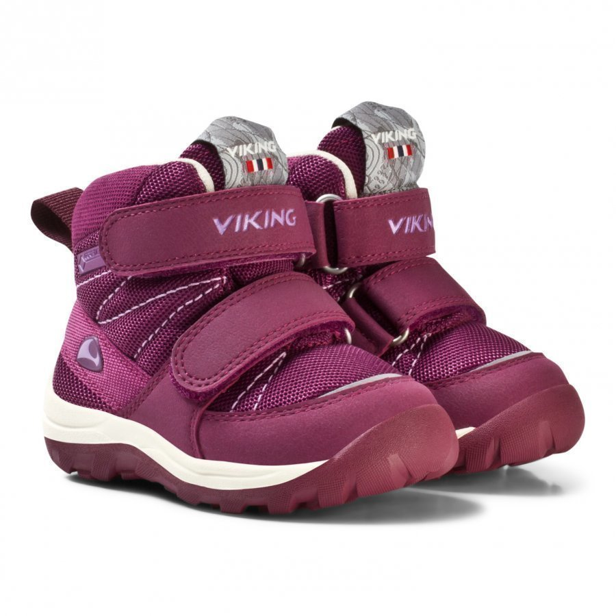 Viking Rissa Gtx Shoes Plum/Coral Talvisaappaat
