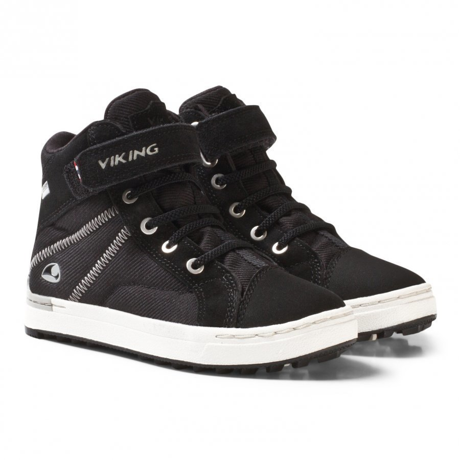 Viking Sagene Mid Gtx Black/White Nilkkurit