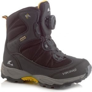 Viking Talvikengät Boulder Gore-Tex® Black/Silver