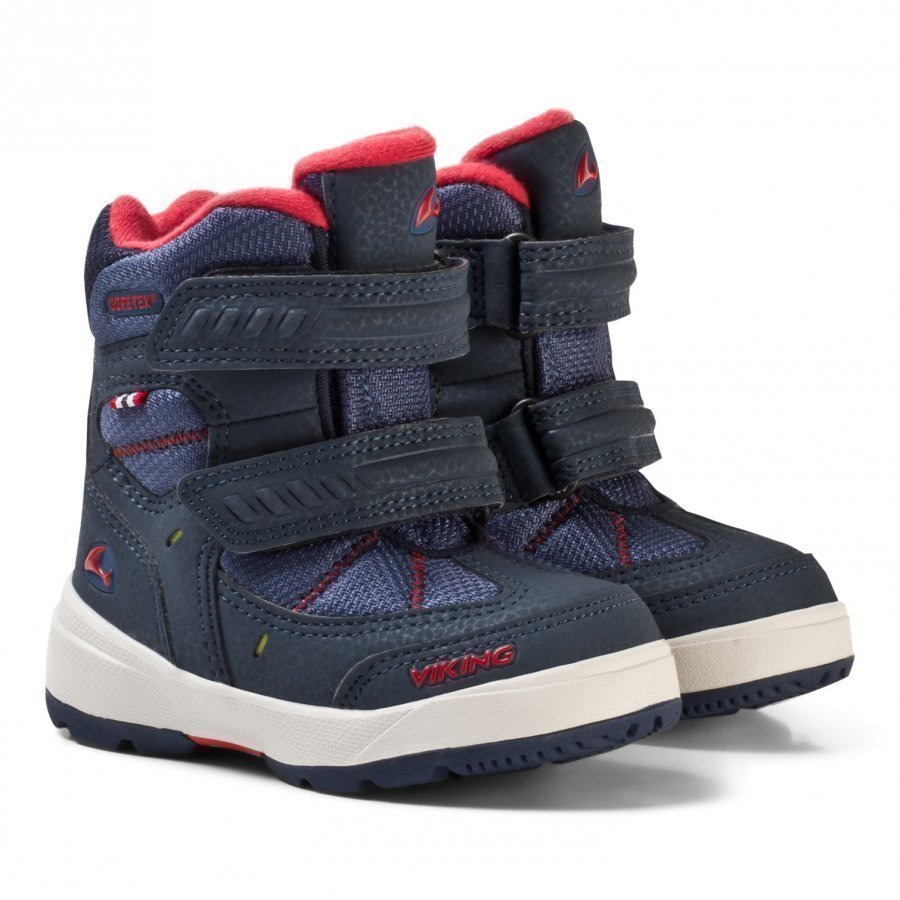 Viking Toasty Ii Gtx Boots Navy/Red Klassiset Kengät
