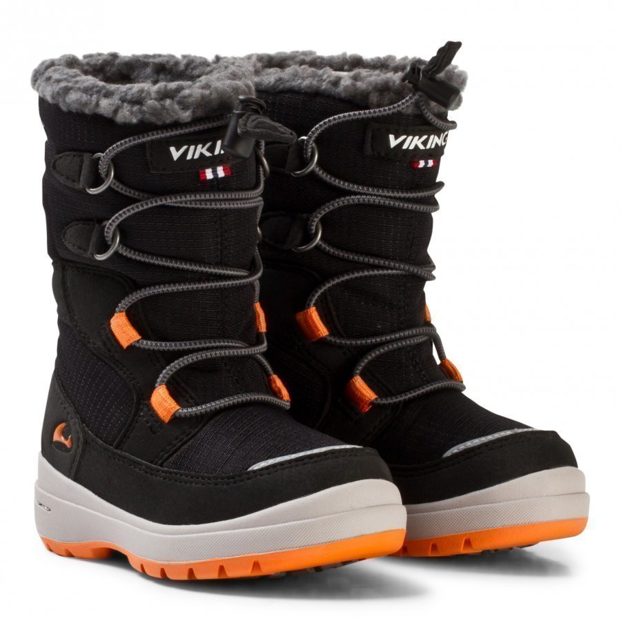 Viking Totak Gtx Black/Orange Klassiset Kengät