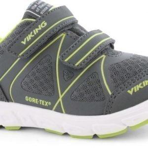 Viking Vapaa-ajan jalkineet GORE-TEX® Trym Charcoal/Lime