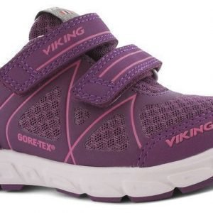 Viking Vapaa-ajan jalkineet GORE-TEX® Trym Purple/Pink