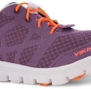 Viking Vapaa-ajan jalkineet Saratoga Purple/Orange