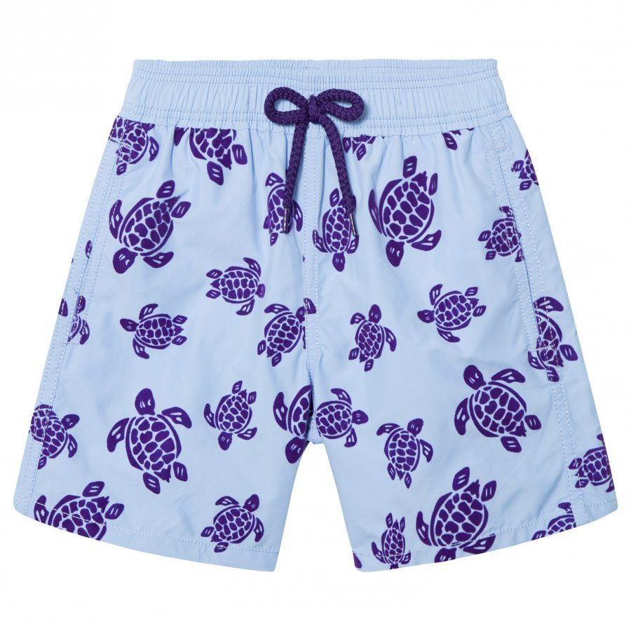 Vilebrequin Flocked Turtles Swimming Trunks Uimahousut