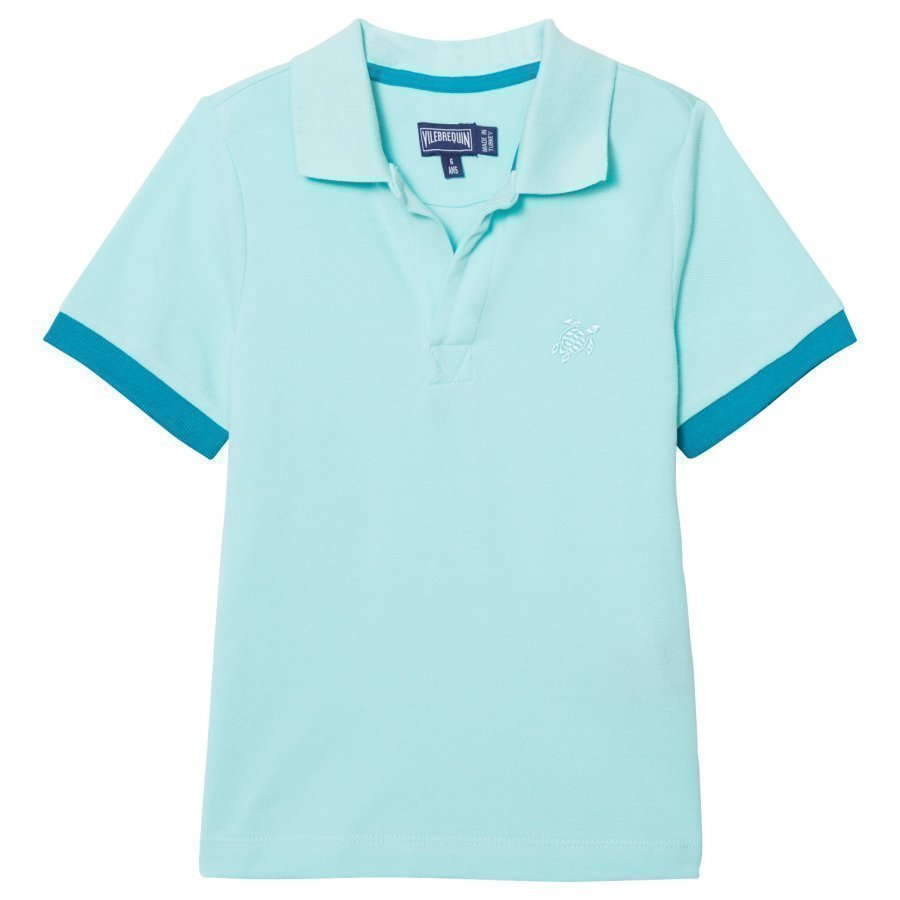 Vilebrequin Light Blue Polo Pikeepaita