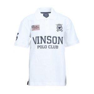 Vinson Polo Club Favrex Jr Pikeepaita Valkoinen