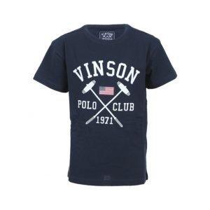 Vinson Polo Club Franco Jr Urheilullinen T-paita Sininen
