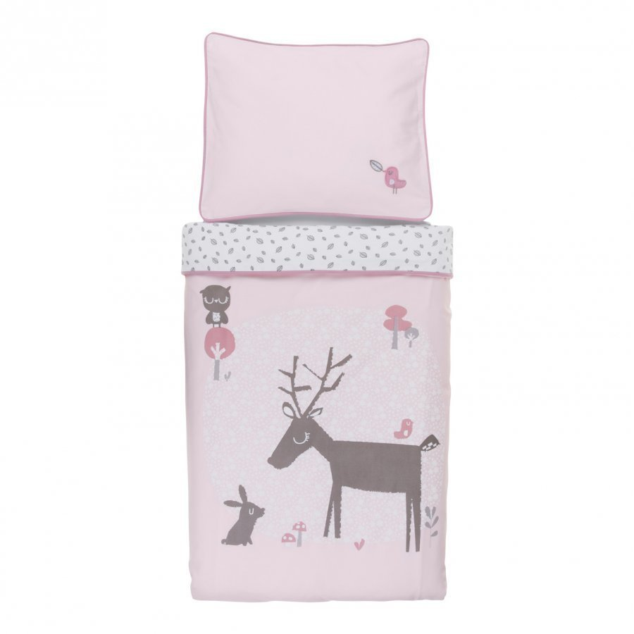 Vinter & Bloom Forest Friends Bedset Bassinet Blossom Pussilakanasetti