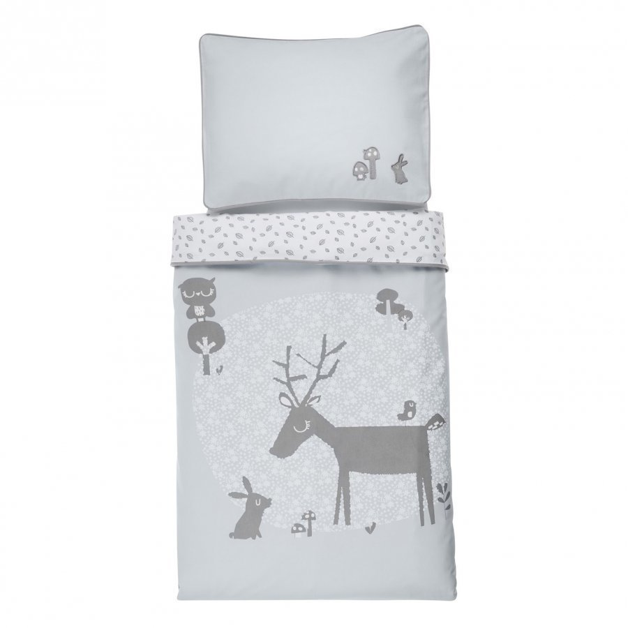 Vinter & Bloom Forest Friends Bedset Bassinet Bluebell Pussilakanasetti