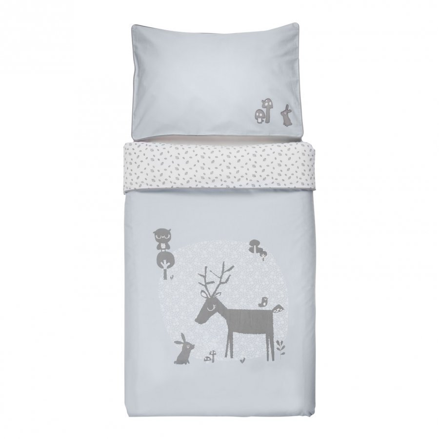 Vinter & Bloom Forest Friends Bedset Cot Bluebell Pussilakanasetti