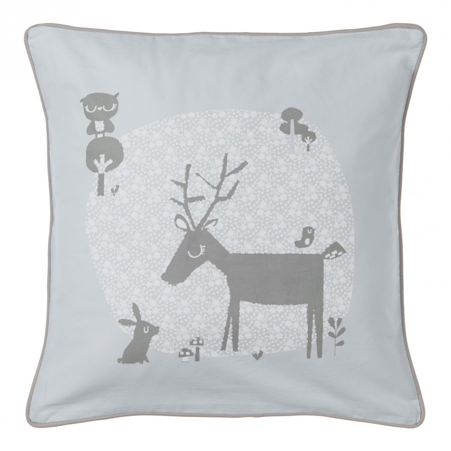 Vinter & Bloom Forest Friends Cushion Cover Bluebell Tyyny
