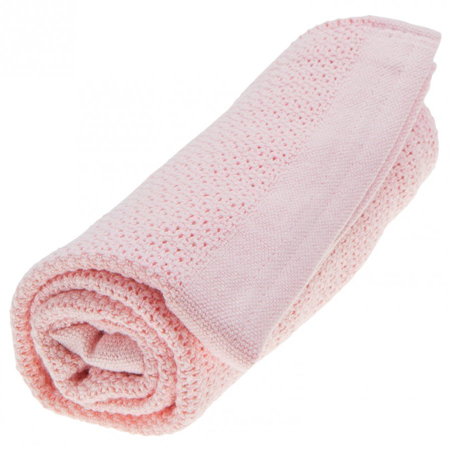 Vinter & Bloom Soft Grid Blanket Blossom Pink Huopa