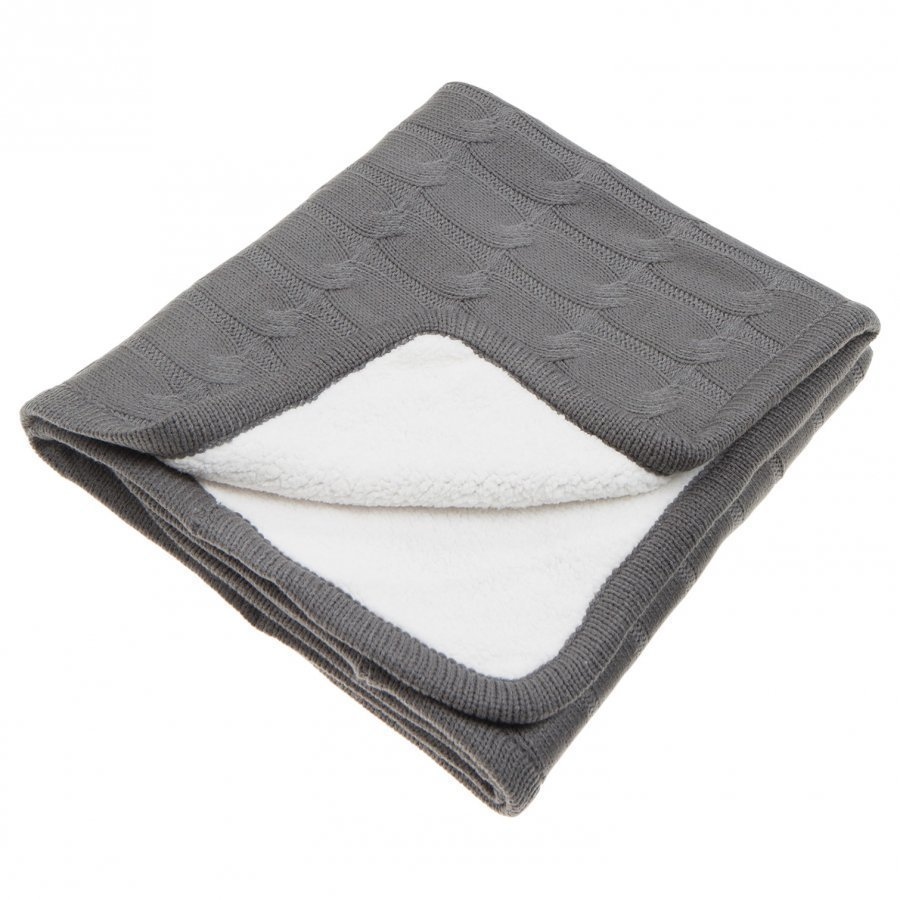 Vinter & Bloom Teddy Blanket Charcoal Huopa