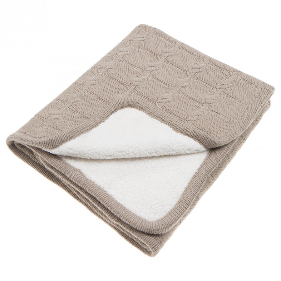 Vinter & Bloom Teddy Blanket Sand Huopa