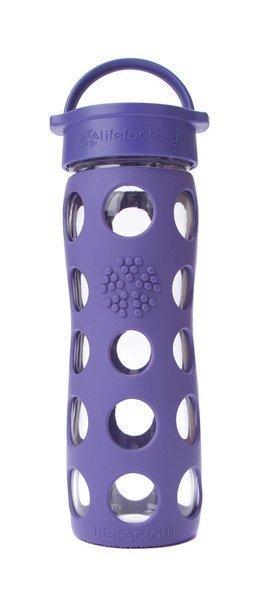 Violetti 475ml lasinen juomapullo